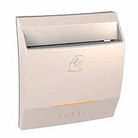 Выключатель Schneider-Electric Unica карточный слоновая кость. MGU3.283.25