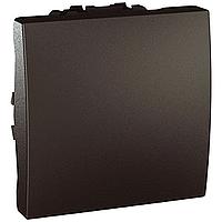 Выключатель Schneider-Electric Unica 1-клавишный 16А графит. MGU3.261.12