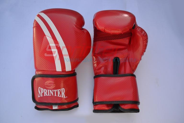 Перчатки боксерские Champion (модель ADIDAS) Красные, 10 унций.