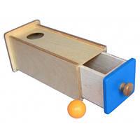 Коробочка с выдвижным шкафчиком