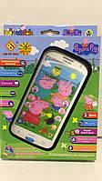 Телефон peppa pig в комплекте со шнурком, фото 1