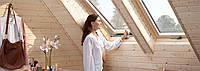 Мансардне вікно VELUX OPTIMA стандарт GZR 3050B CR 04 дерев'яне 55х98 см