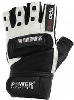 Перчатки для интенсивных тренировок Power System двойной слой кожи