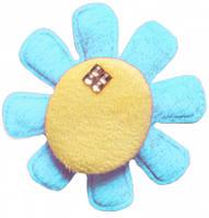 Нашивка объемная цветок