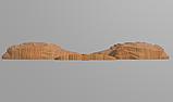 Код КА 3. Резной деревянный декор для мебели. Картуш, фото 3
