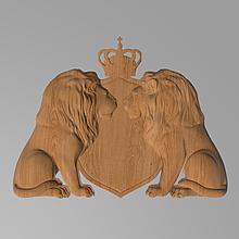 Код КА 3. Резной деревянный декор для мебели. Картуш