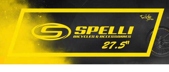 Велосипеды 27,5 SPELLI