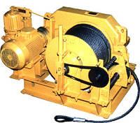 Лебедка электрическая ЛЭO–20М (с канатоукладчиком)