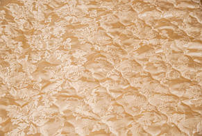 Покрывало атласное 180*200 светлое золото, фото 2
