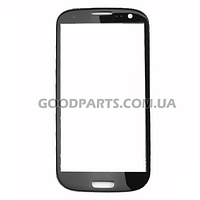 Стекло для Samsung I9300 Galaxy S3 черный high copy
