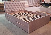 """Кровать двуспальная с 2-мя шухлядами """"Бейлис"""""""