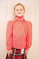 Модная нарядная шифоновая блуза на девочку.