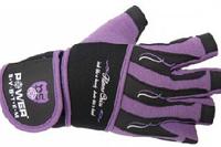 Перчатки для фитнеса Power System фиолетовые