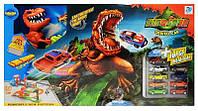 Трек-запуск с динозавром 8899-94