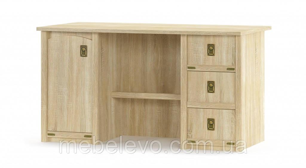 Стол письменный Валенсия 1Д 3Ш 760х1400х680мм Мебель-Сервис