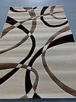 Рельефный ворсовый ковер Legenda 0353 кремовый