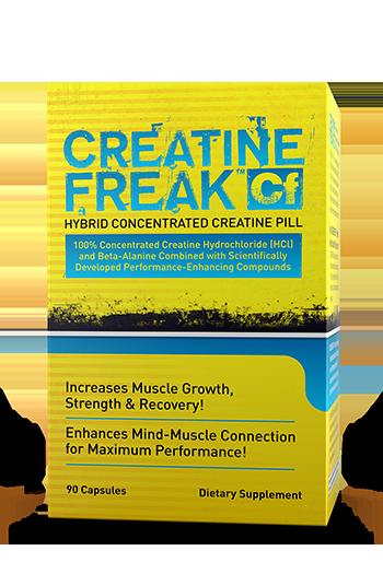 Креатин с транспортной системой Pharma Freak Creatine Freak 90 caps (30 serv)