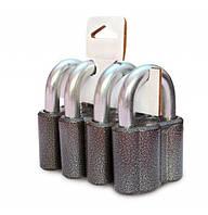Набор навесных замков ЧАЗ ВС2-М1 (4 замка+9 ключей), фото 1