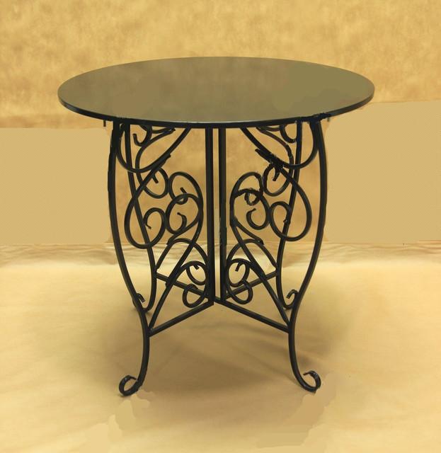 Кованая мебель: кованые столы. Газетницы.