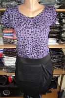 Платье сиреневый леопард размер М