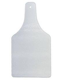 Доска стеклянная разделочная для сублимации в виде бутылки
