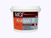Декоративная штукатурка c фактурой Kratzputz 15
