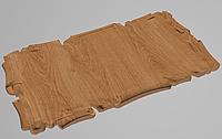 Резной деревянный декор для мебели. Картуш