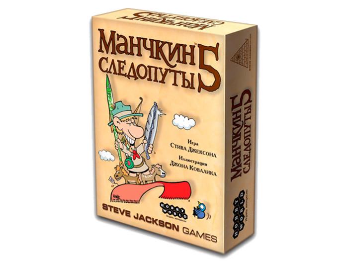 """Настольная игра """"Манчкин 5. Следопуты"""" Hobby World"""