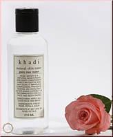 Натуральный Тоник Для Лица - Розовая Вода (Rose  Moisturising Lotion, Khadi)  210 Мл