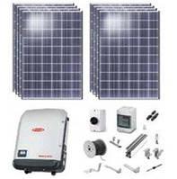 Комплект сетевой солнечной электростанции, мощность 30 кВт (трехфазная)