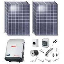 Комплект автономной солнечной электростанции, мощность 1 кВт, фото 3