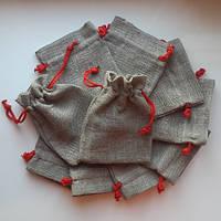 Льняные мешочки