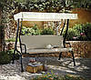 Качели садовые Haversham Classic Garden Swing Seat in Linen.
