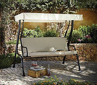 Качели садовые Haversham Classic Garden Swing Seat in Linen., фото 1
