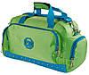 Вместительная спортивная сумка для поездок 17 л. Traum 7065-22 салатовый