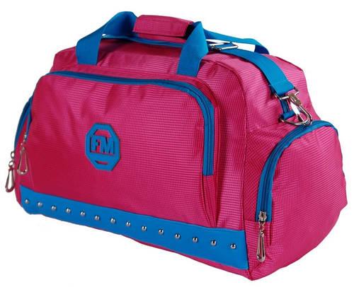 Функциональная спортивная сумка для поездок 17 л. Traum 7065-23 ярко-розовый