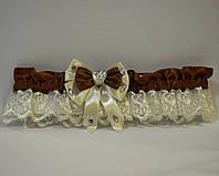 Подвязка для невесты «Амбер»