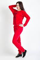 Велюровый спортивный женский костюм в расцветках