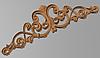 Код КОР9. Деревянный резной декор для мебели. Короны