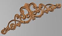 Код КОР9. Деревянный резной декор для мебели. Короны, фото 1