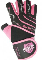Перчатки Power System  для занятий дома и в тренажерном зале Rebel Girl розовые