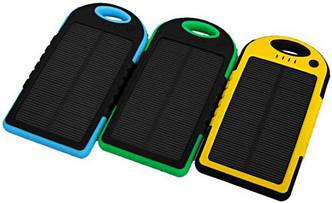 Портативное зарядное Power Bank Solar 45000 mAh на солнечной батареи