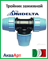 Тройник зажимной 110 Unidelta