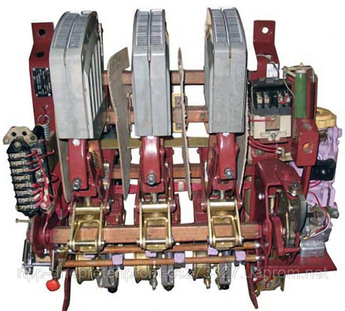 Автоматический воздушый выключатель АВМ-15СВ на ток до 1500А селективный выдвижной