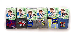 Колготки детские красивые с объемным рисунком для мальчика, 92-152.