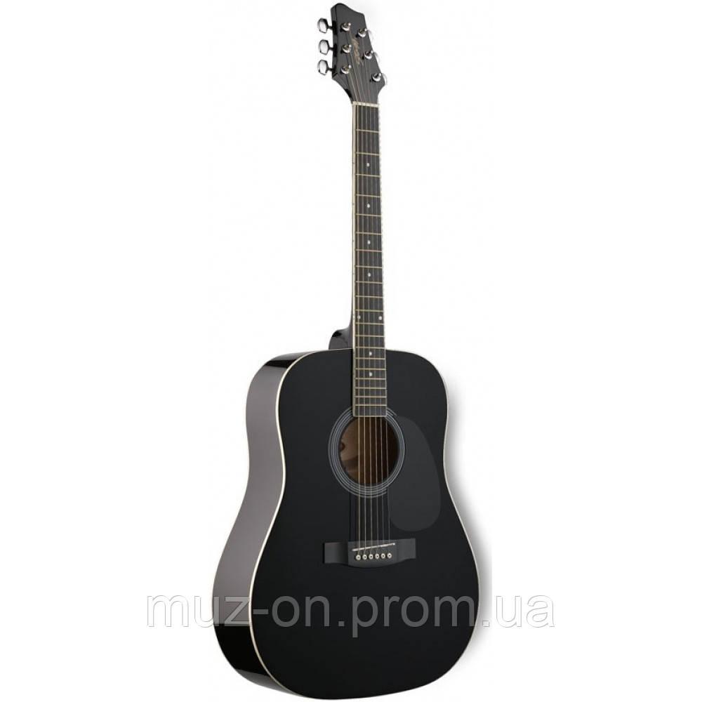 Акустическая гитара Stagg SW201 BK