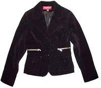 Пиджак вельвет черный S,M,XXL