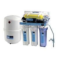 Система фильтрации воды обратного осмоса CAC-ZO-6P/M (с насосом и минерализатором) Насосы+