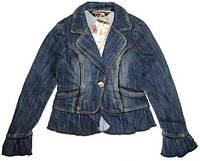 Пиджак джинсовый размер S