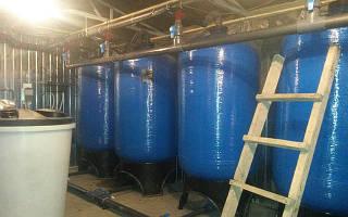 Подготовка воды для котельной промышленного предприятия в г. Днепропетровск